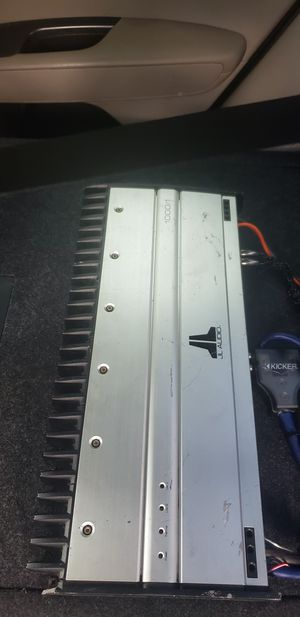 JL AUDIO AMPLIFIER 1000/1 for Sale in Los Angeles, CA