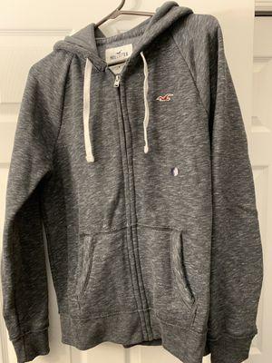 Hollister Size Medium Hoodie Grey for Sale in Orlando, FL