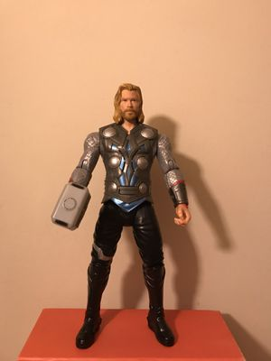 Marvel Comics Mighty Thor Speaks Around 8 Phrases Almost 10 Inches Tall Figure Great Condition for Sale in Reedley, CA