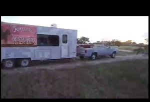 Home built cooking trailer and 1974 dodge pick up for Sale in Grape Creek, TX