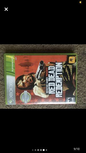 Xbox 360 Red Dead Redemption for Sale in Laveen Village, AZ