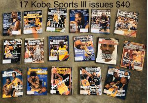 Sports Illustrated Kobe Bryant 17 issues for Sale in Lyman, SC