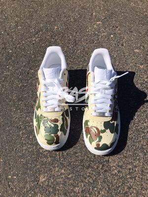 Custom Bape Air Force 1 for Sale in Glendale, AZ