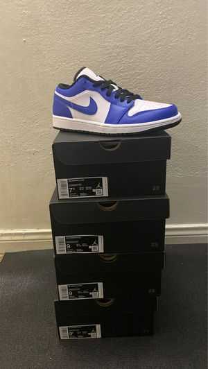 Air Jordan 1 Low game royal new 7.5 , 9 , 9.5 for Sale in Los Angeles, CA
