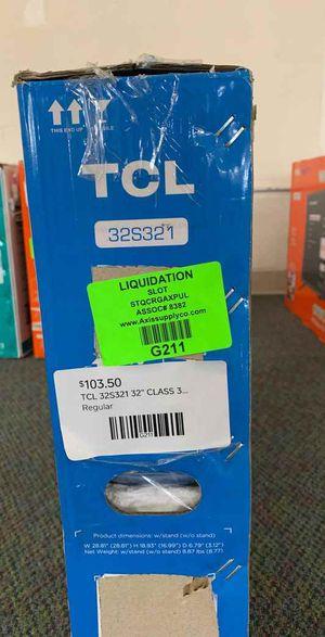 "Brand New TCL ROKU 32"" Smart Tv! Open box w/ warranty MP for Sale in Garden Grove, CA"