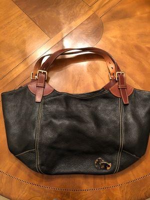 Dooney & Bourke large blue leather purse for Sale in Odessa, FL