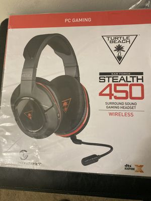 Gaming headset wireless Turtle beach for Sale in Germantown, MD