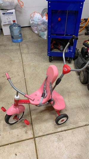 Radio flyer girls tricycle with original box for Sale in Portland, OR