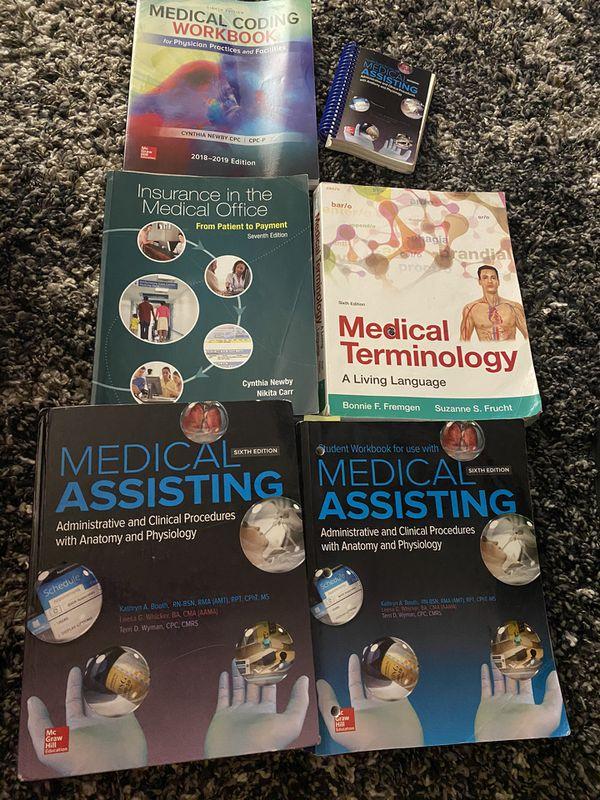 Medical assisting books