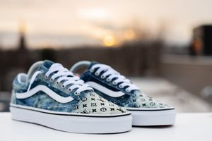 Custom lv vans tell me a size and I can make them for Sale in Philadelphia, PA