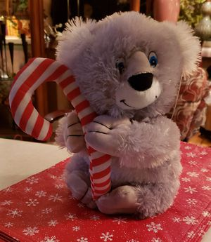12 inch stuffed animal with candy cane..new for Sale in St. Louis, MO