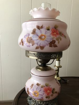 Antique vintage lamp pink for Sale in Seattle, WA