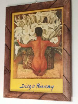 Diego Rivera picture frame for Sale in Santa Fe Springs, CA
