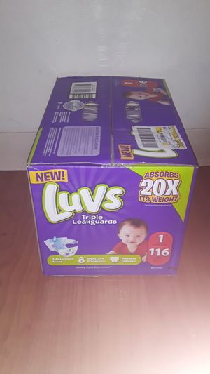 Luvs triple leakguards for Sale in Phoenix, AZ