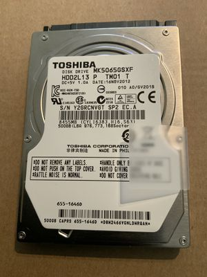 500 GB HARD DRIVE for Sale in Chicago, IL