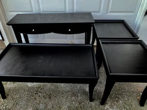 Matching four piece set of tables for Sale in Salem, OR