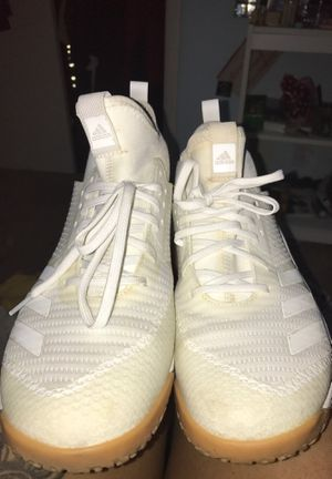 White adidas volleyball shoes for Sale in Sherwood, AR