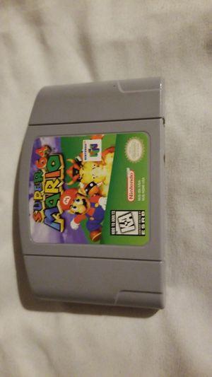 Super Mario 64 N64 for Sale in Seattle, WA