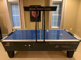Gold Standard Game Tournament Pro Elite Air Hockey Table for Sale in Leesburg,  VA