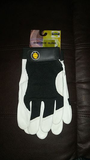 New work gloves goat skin for Sale in Riverside, CA