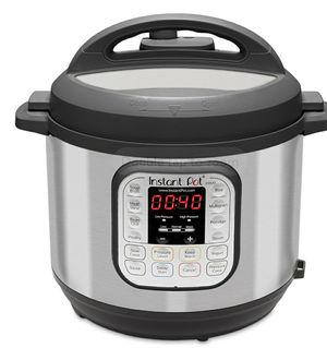 Instant Pot DUO80 8-Quart 7-in-1 Multi-Use Programmable Pressure Cooker, Slow Cooker, Rice Cooker, Sauté, Steamer, Yogurt Maker and Warmer for Sale in Los Angeles, CA