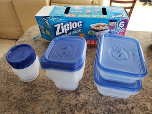 12 Ziploc Food Containers for Sale in Hollywood, FL