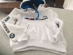 NEW BMW WHITE HOODIE for Sale in Maywood, IL