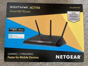 Like new Netgear Nighthawk R6700 smart WiFi Router for Sale in Phoenix, AZ