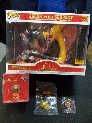 """FUNKO: DISNEY TREASURES """"ALADDIN BOX"""" (HOT TOPIC EXCL) for Sale in Blue Bell, PA"""