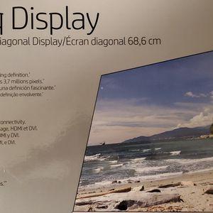 Hp 27q Monitor for Sale in El Cajon, CA