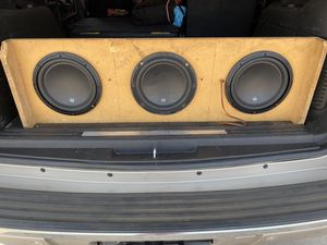 "3 W3 10"" woofers for Sale in Phoenix, AZ"