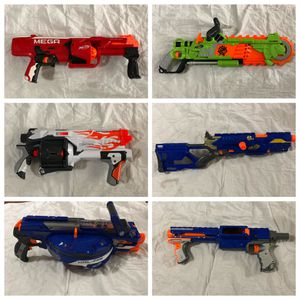 Nerf Gun and Accessories Toy Lot for Sale in Port St. Lucie, FL