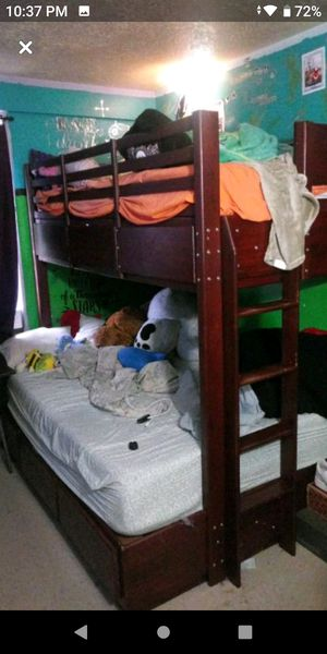 gathic bunk bed for Sale in The Bronx, NY