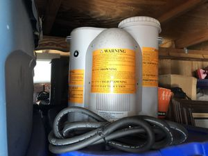Portable Hot Tub heater and filter for Sale in Pompano Beach, FL