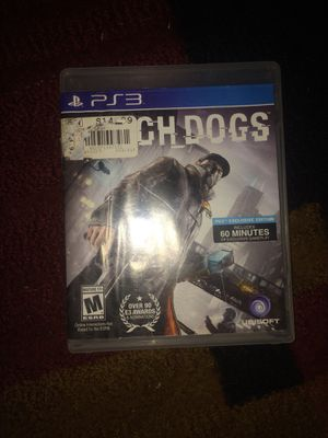 Ps3 watch dogs for Sale in Henderson, KY