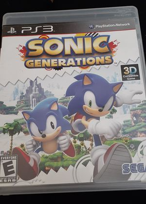 Sonic Generations (PS3) $12 or Best Offer for Sale in Phoenix, AZ