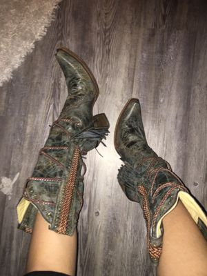 Corral Vintage Braided Cowboy Boots for Sale in Toms River, NJ