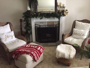 2. Rattan chairs with Ottomans for Sale in San Diego, CA