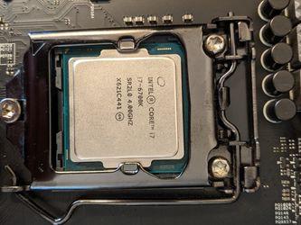 Intel i7-6700K LGA 1151 CPU for Sale in Ontario,  CA