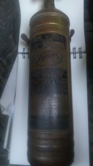 Pyrene fire extinguisher for Sale in Cunningham, TN