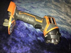 Battery ridgid light for Sale in Los Angeles, CA