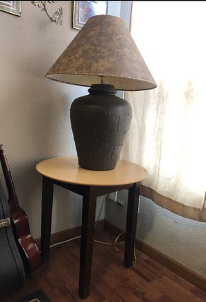 2 end tables, 2 big lamps, 1 coffee table and elliptical for Sale in Tacoma, WA