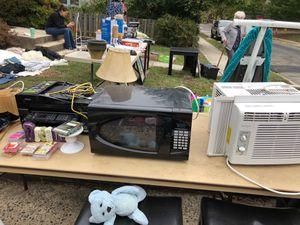 AC unit, microwave, printer for Sale in Arlington, VA