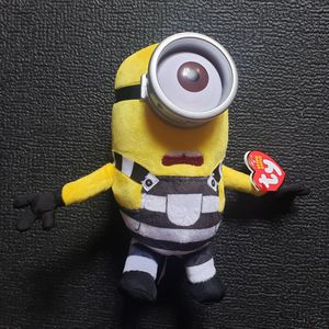 TY Beanie Baby - CARL (Prison Uniform) (Despicable Me) MWMTs Stuffed Animal Toy for Sale in Huntington Park, CA