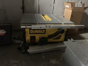 "12"" de Walt table saw for Sale in Boston, MA"