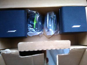 Bose satellite speakers for Sale in Ontario, CA