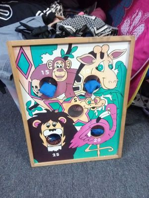 Animal Beanbag Toss Game for Sale in San Antonio, TX