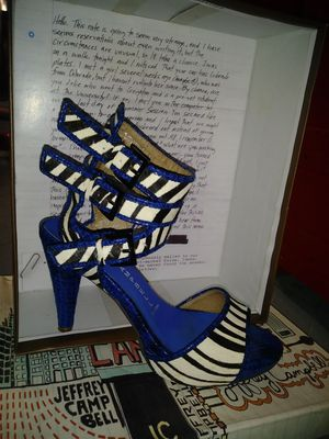 Used, Jeffrey Campbell Zebra shoe 8.5 for Sale for sale  Brooklyn, NY
