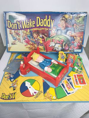 Vintage 1992 Parker Bros. Don't Wake Daddy Board Game 100% complete for Sale in Pawtucket, RI
