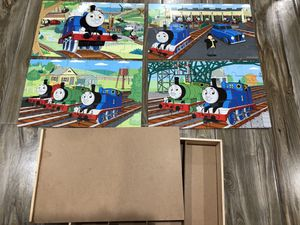 Thomas & Friends - 4 Wooden Puzzles for Sale in East Norwich, NY